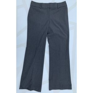LOFT Pants - Ann Taylor LOFT Julie Trouser Dress Pants Gray 10
